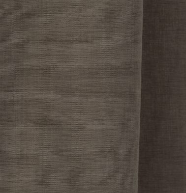 Textura Cotton Custom Floor Cushion Caribou Brown
