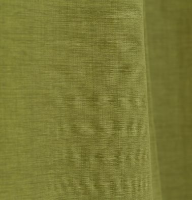 Textura Cotton Custom Floor Cushion Palm Green