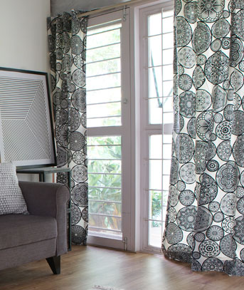 Customize your curtains, as you like them